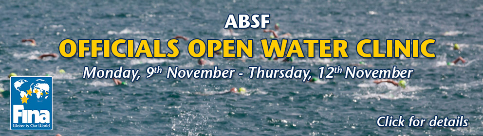 2015 ABSF Officials Open Water Clinic